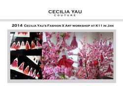 Cecilia Yau grooms fashion talents