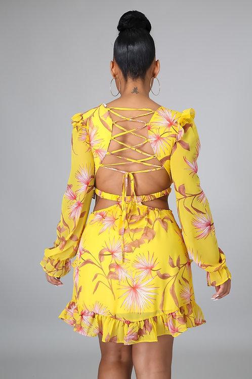 Venus Floral Dress