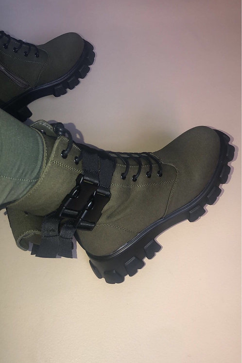 The Remy Military Boots