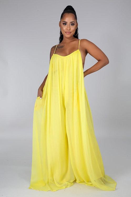Dreamy Jumpsuit (Yellow)