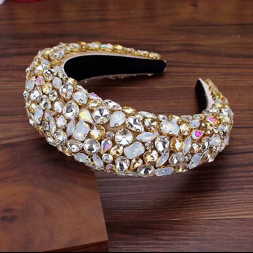 Glow Rhinestone Headband