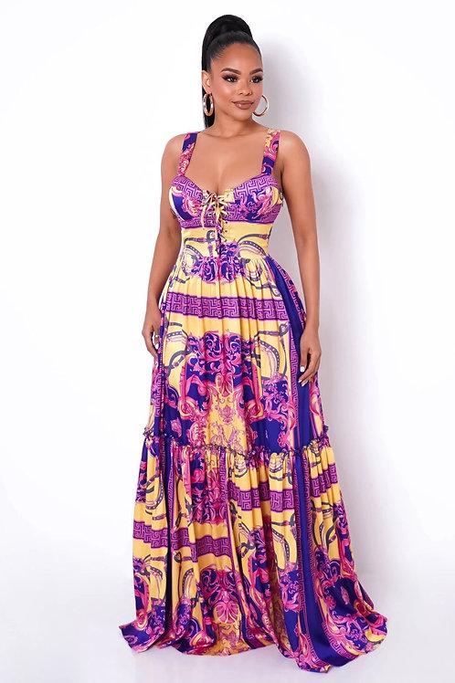 Arabian Nights Maxi Dress