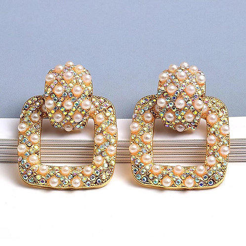 Gia Pearl Earrings