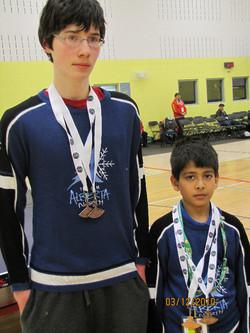 Team Alberta Medals
