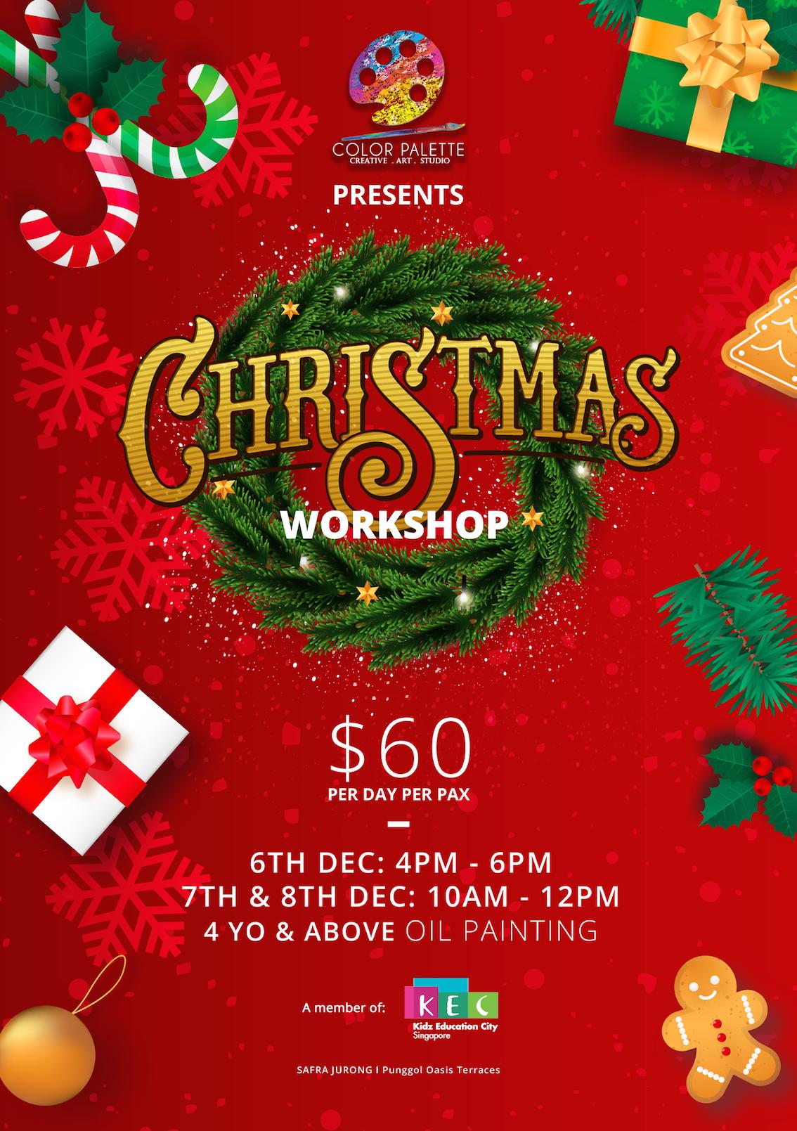 Copy of Artistic Christmas Workshop