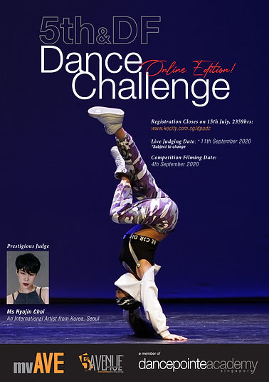 mvAVE_5th - DF Dance Challenge Poster 20