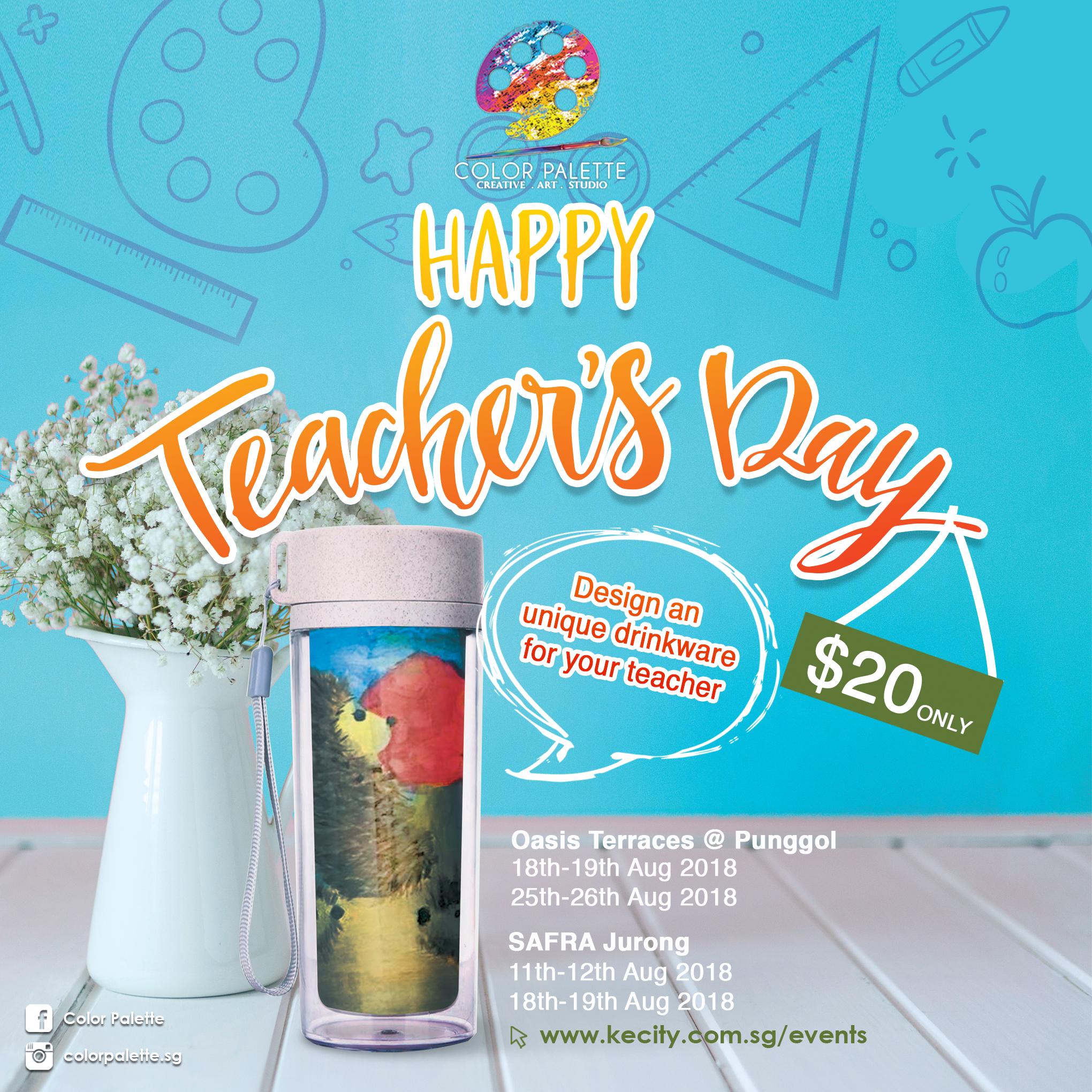 Teacher's Day Special (Punggol)