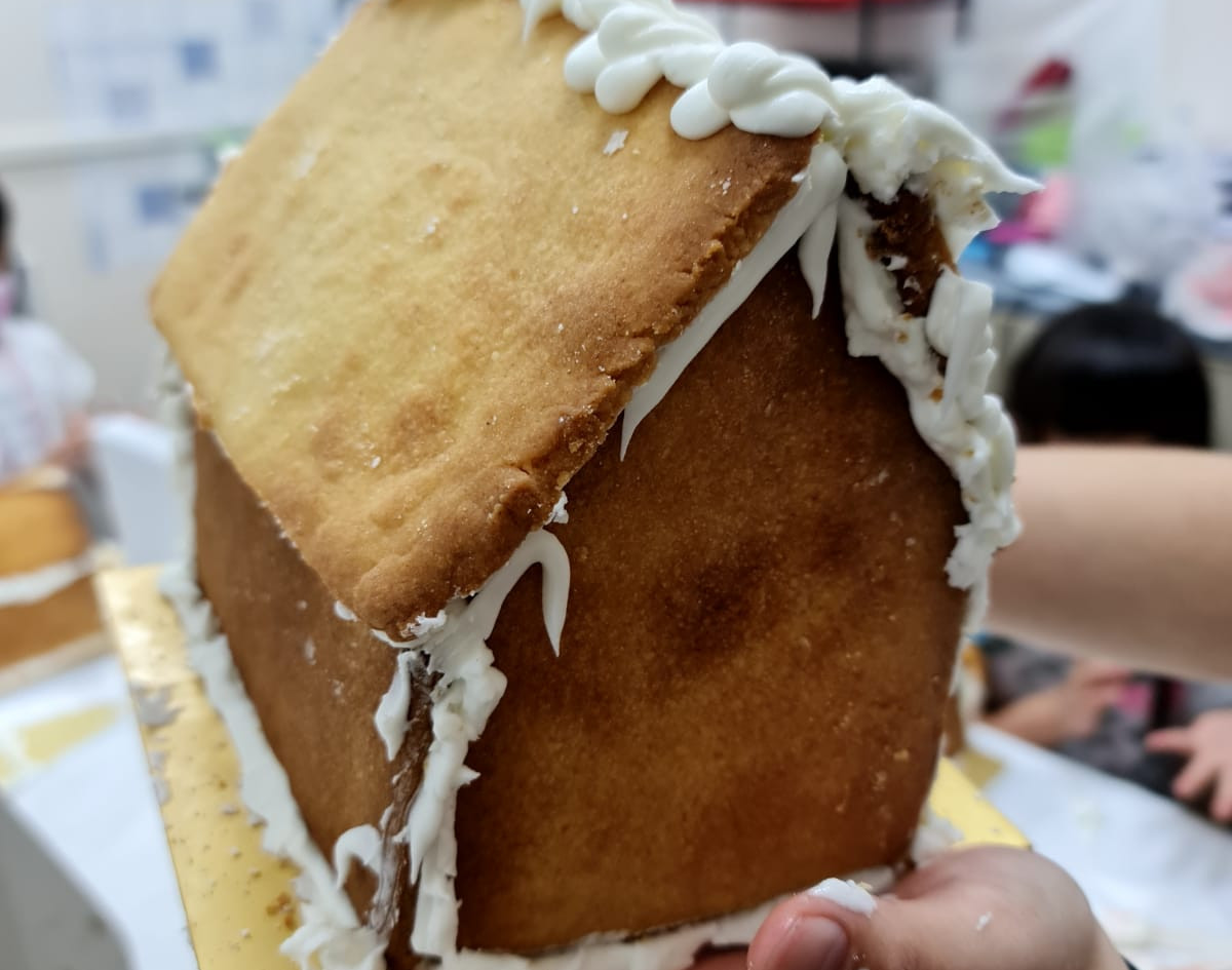 Gingerbread House Baking