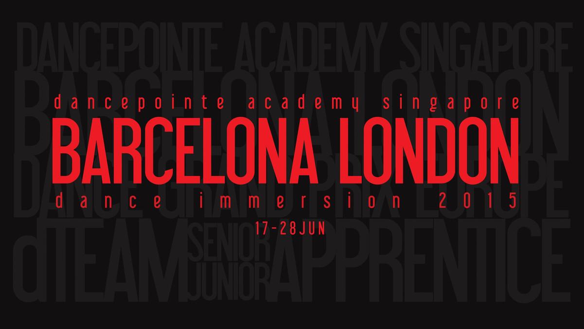 Barcelona London Dance Immersion 16th – 29th June 2015