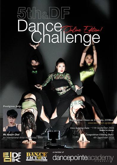 DFK team_5th - DF Dance Challenge Poster