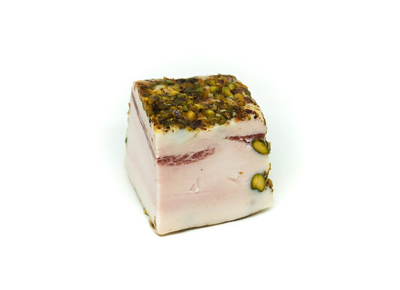 Trancio di Lardo ai Pistacchi Tostati | 250 gr