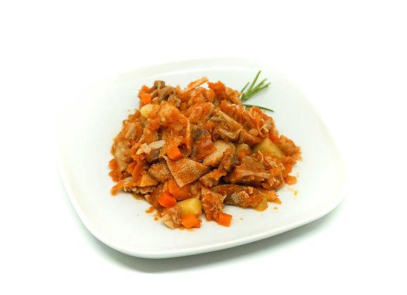 Trippe alla contadina con patate e porri di Cervere | 500gr