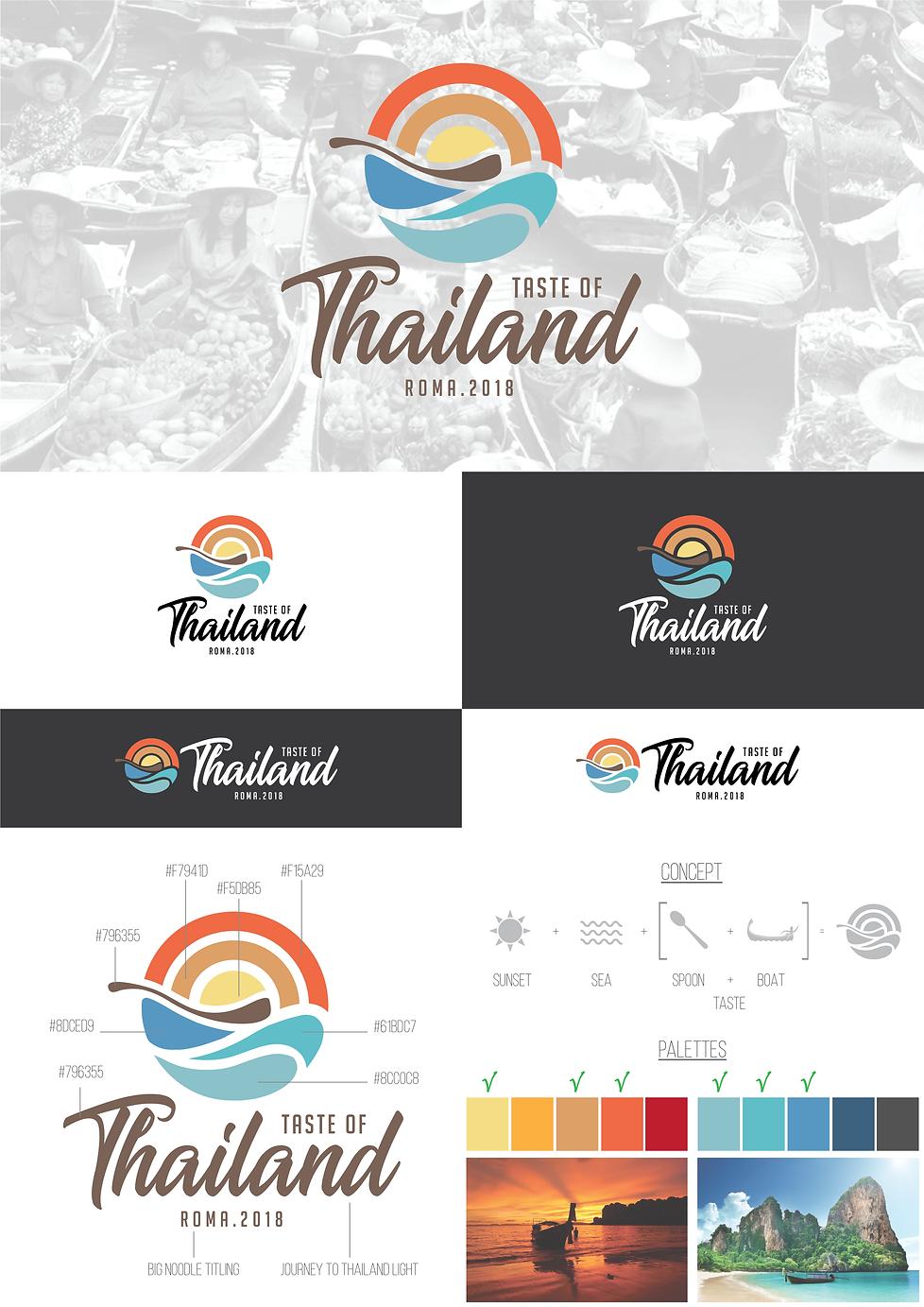 Contest Logo Taste of Thailand Lorenzo Dalmasso