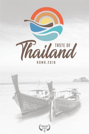 Taste of Thailand 2018 / Logo Contest  / Lorenzo Dalmasso