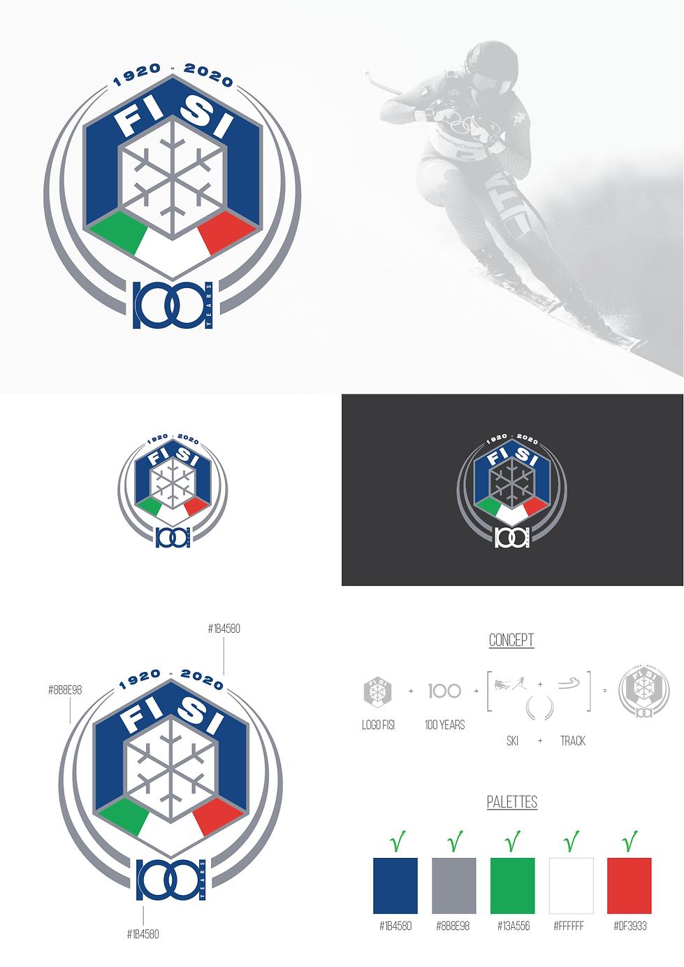 Contest Logo Centenario FISI Lorenzo Dalmasso