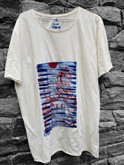Camiseta off white oriental