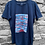 Thumbnail: Camiseta azul dragão vermelho