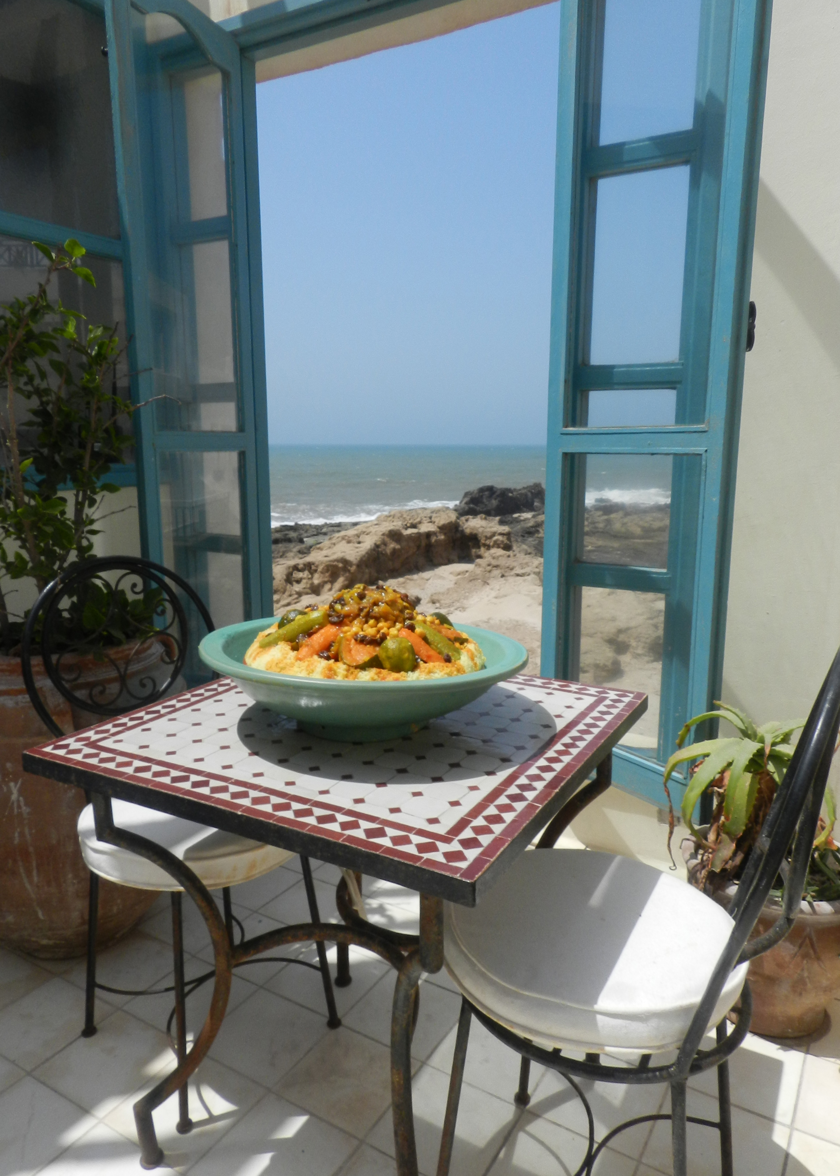 lunch ocean view