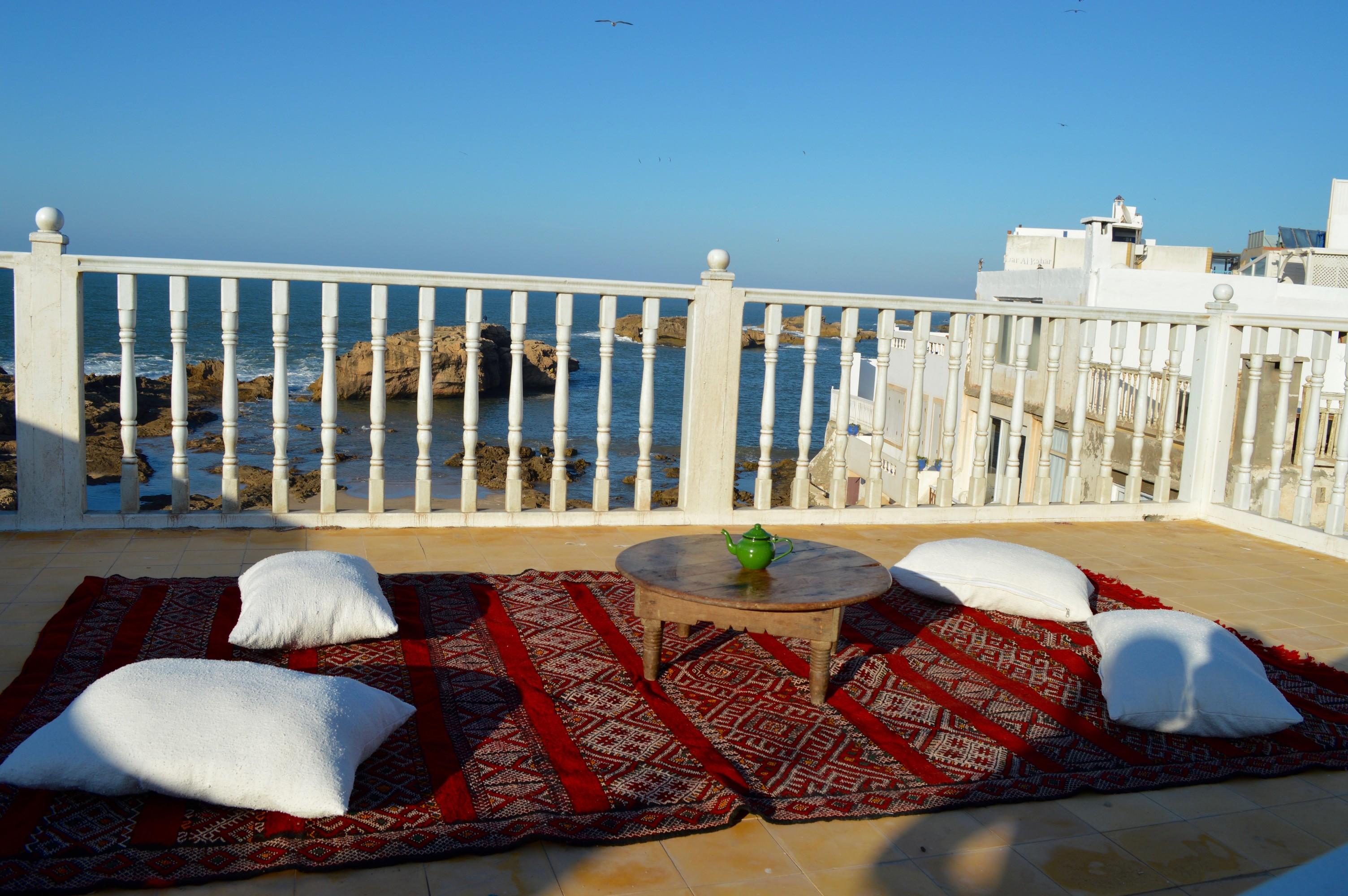 roof-top terrace