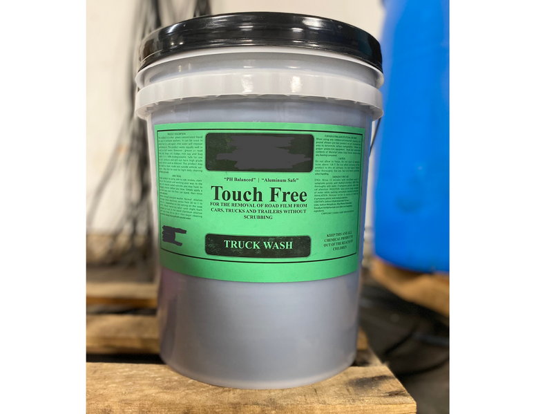 Touch Free 5 gallon pail