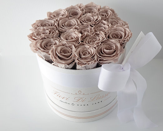Beige Luxe Rose Box