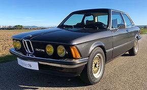 BMW 323i E21 vendue chez Atelier 76
