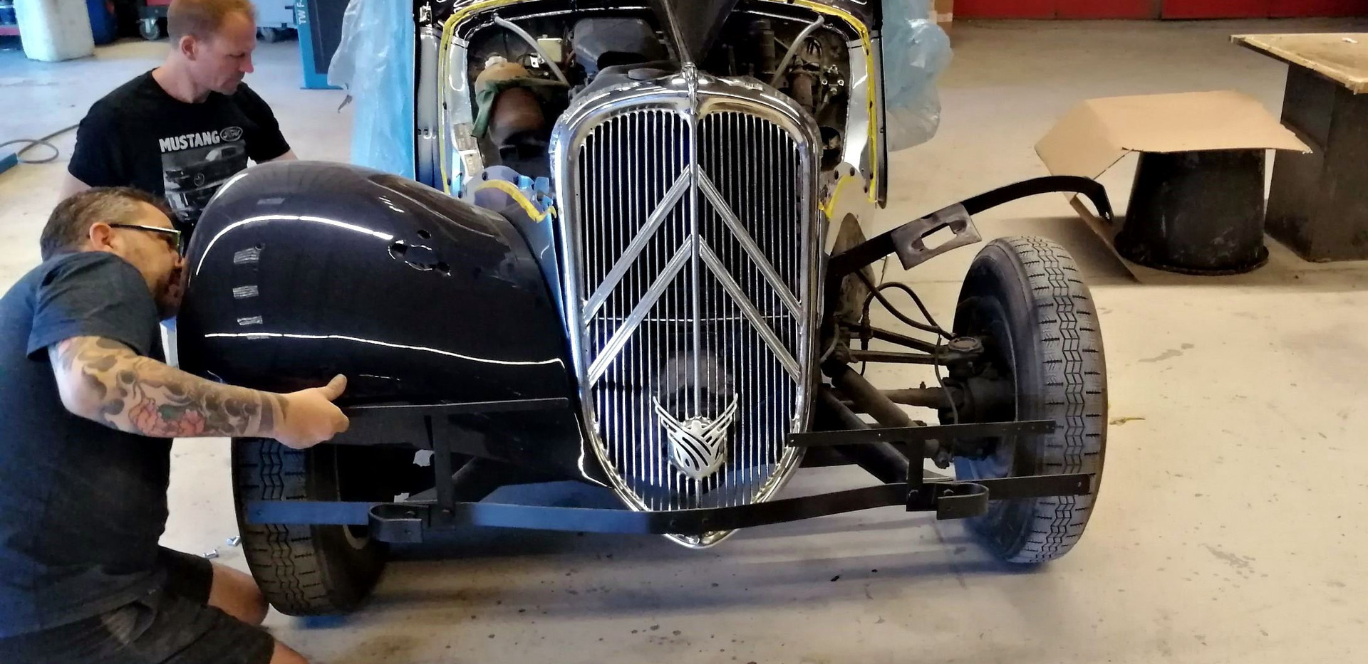 CITROËN Traction 11BL 1954 - remontage