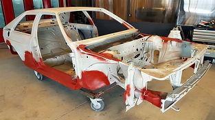 AUDI Quattro WR 1983 restaurée chez Atelier 76