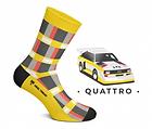 Chaussette Heel Tread AUDI Quattro vintage 76