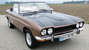FORD Capri cabriolet vendue par Ateluer 76