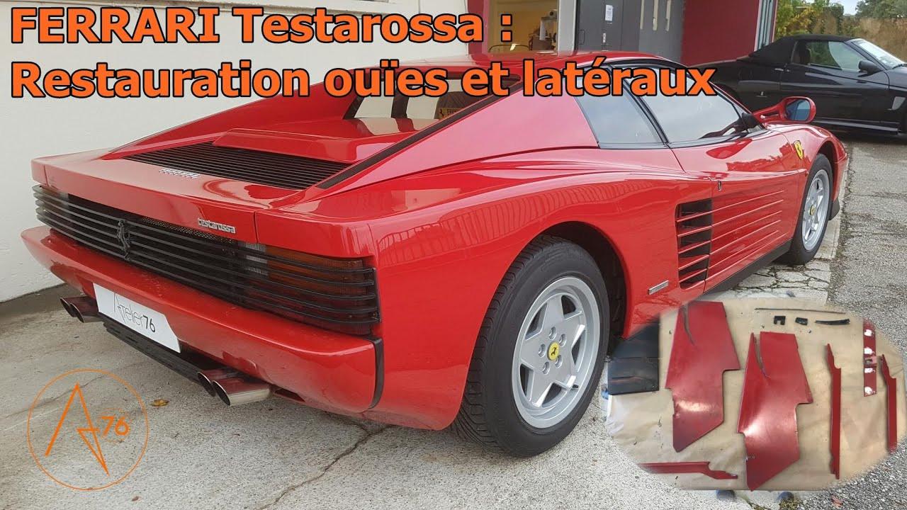 FERRARI Testarossa restauré chez Atelier 76