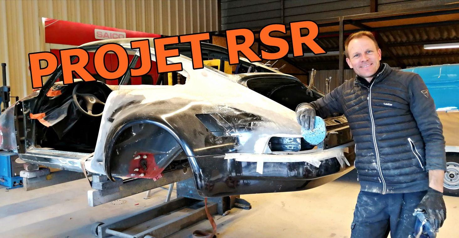 PORSCHE 911 restaurée et transformée en RSR chez Atelier 76
