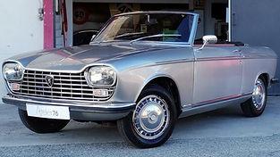 PEUGEOT 204 cabriolet vendue chez Atelier 76