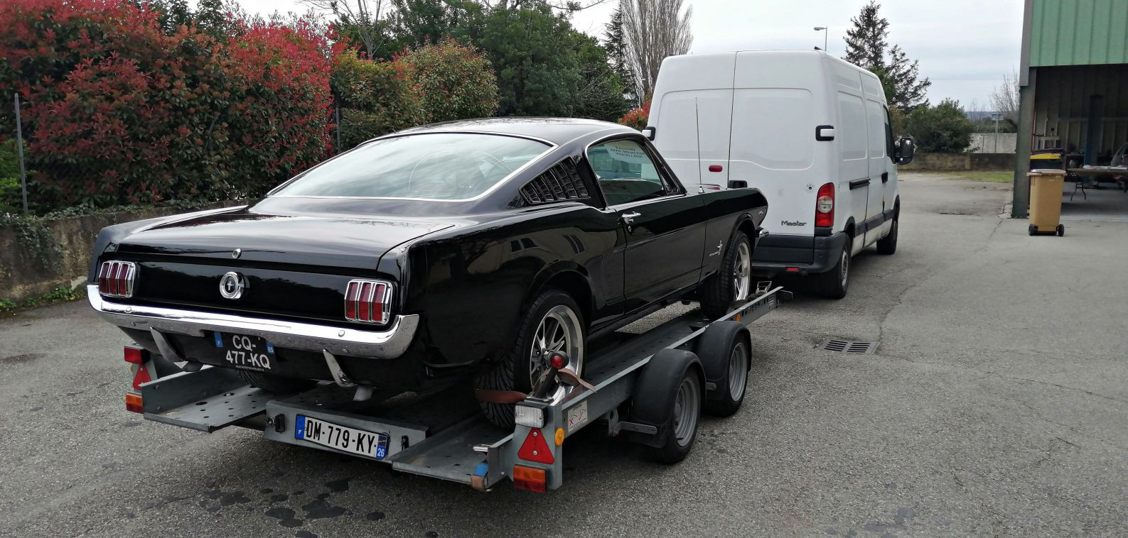 Restauration terminée - FORD Mustang Fastback