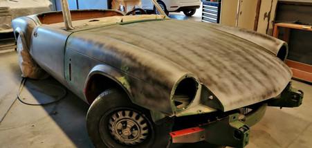 TRIUMPH Spitfire 1500 - carrosserie