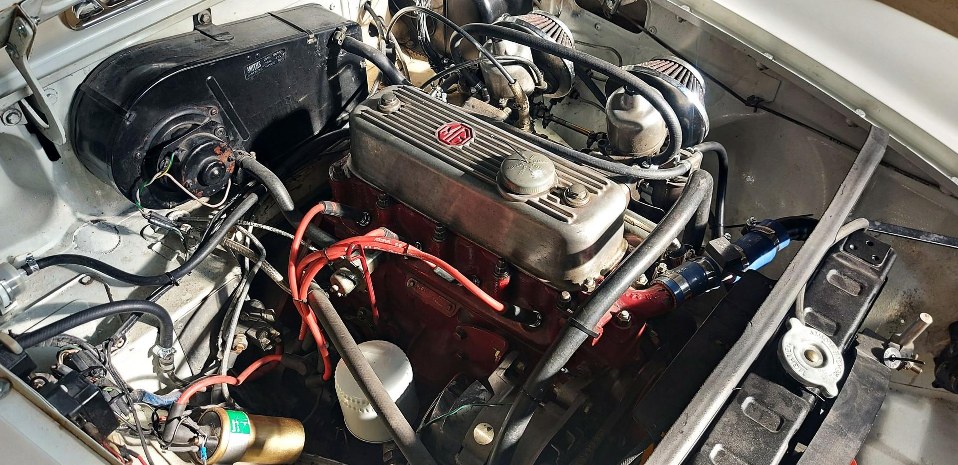MG B GT 1972