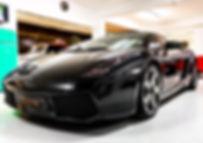 Lamborghini Gallardo vendue chez Atelier 76