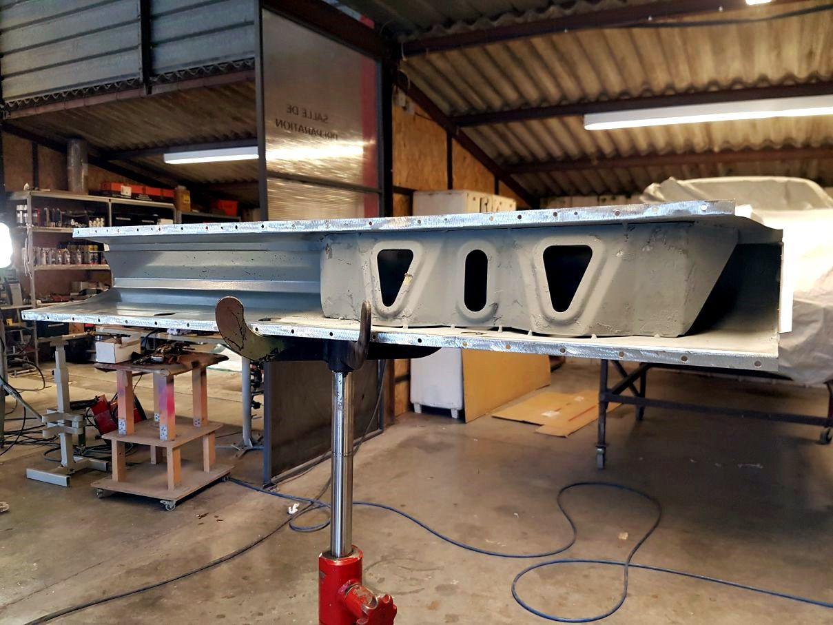 AUDI Quattro - réparation bas de caisse gauche