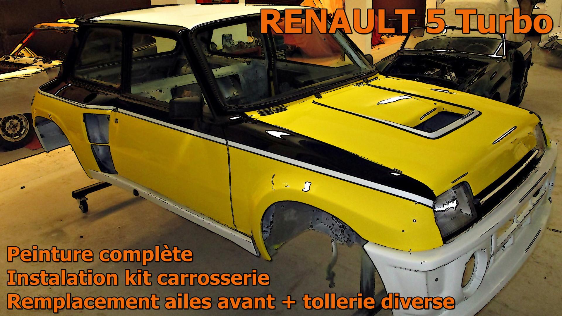 RENAULT 5 Turbo restaurée par Atelier 76