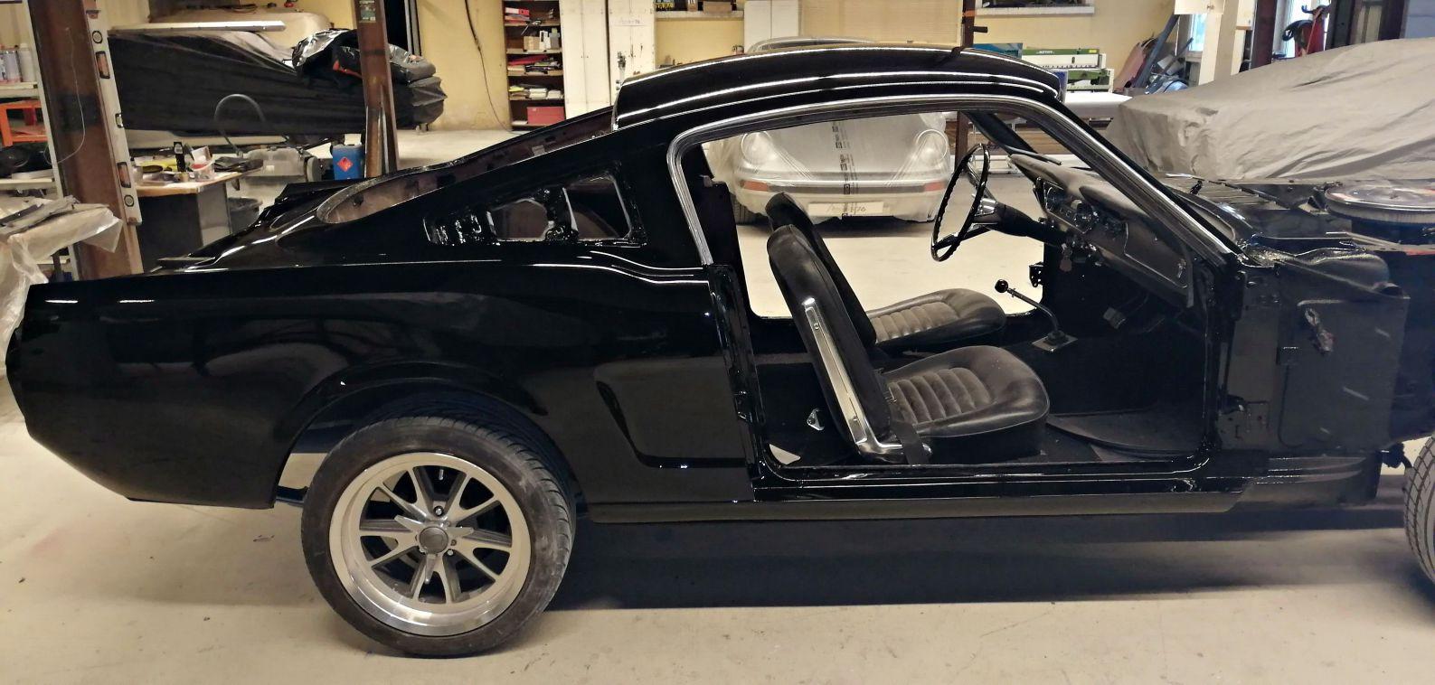 Peinture - FORD Mustang Fastback