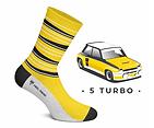 Chaussette Heel Tread Renault 5 turbo tour de corse vintage 76