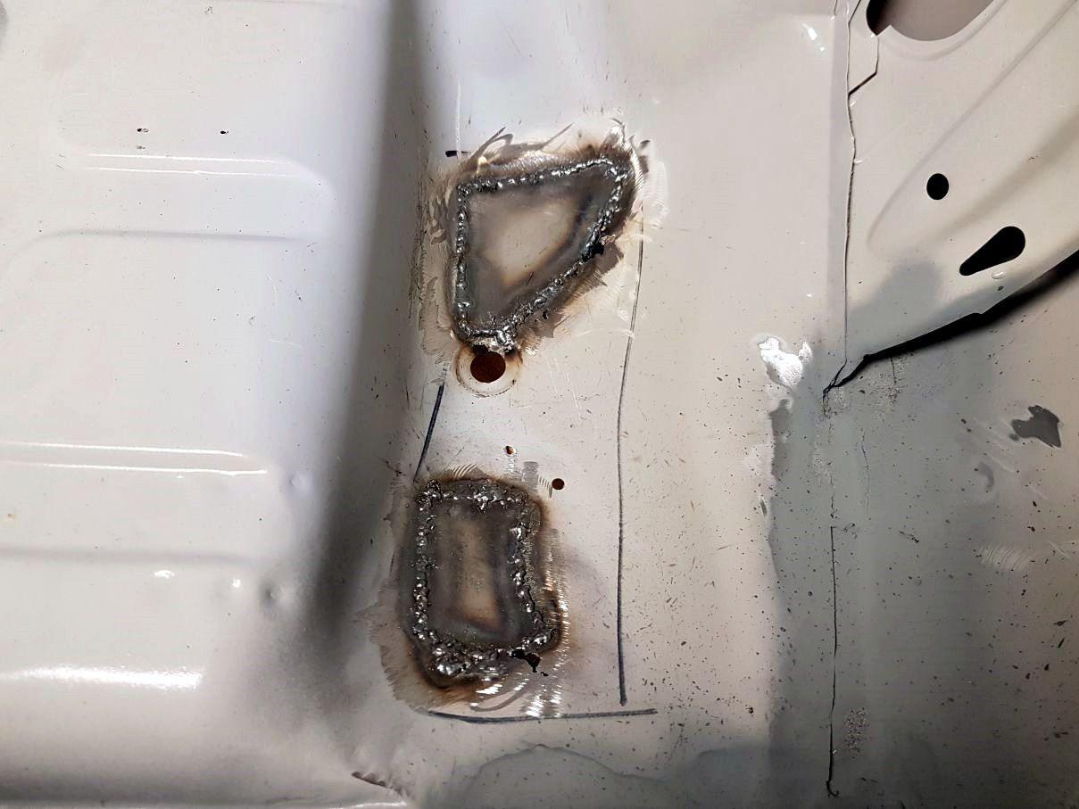 AUDI Quattro - réparation sousbassement