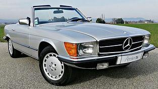 Mercedes 280SL R107 vendue chez Atelier 76