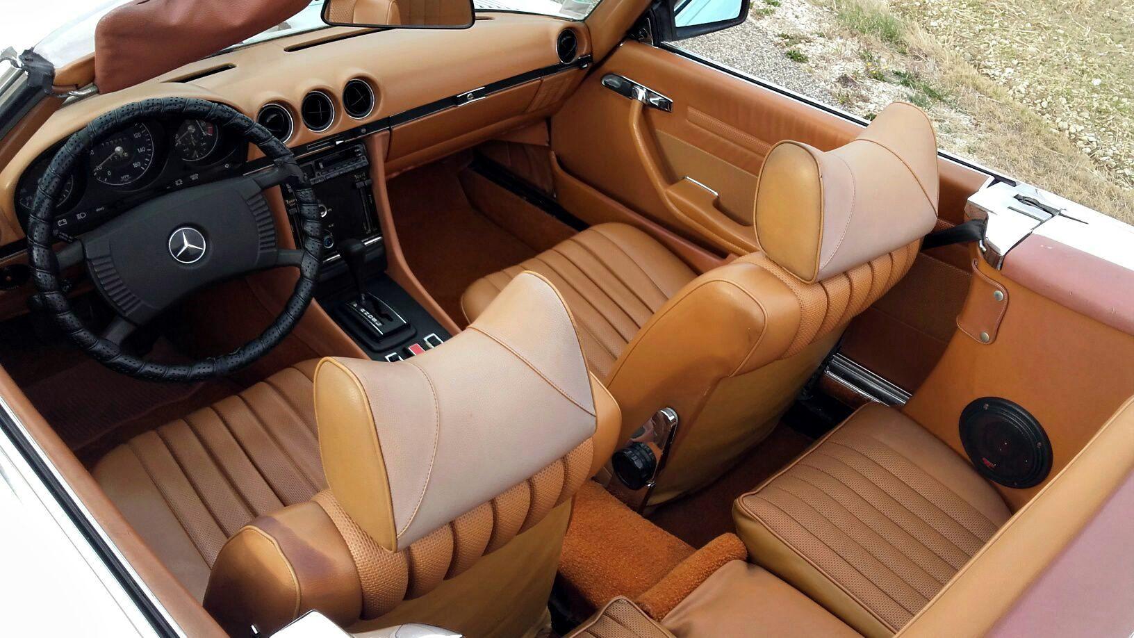 MERCEDES 450SL R107