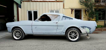 2eme dressage (finitions) - FORD Mustang Fastback