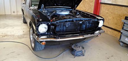 Poli-lustré + remontage - FORD Mustang Fastback