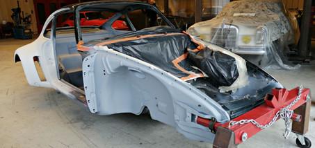Projet transformation PORSCHE 911 en RSR
