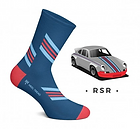 Chaussette Heel Tread PORSCHE RSR vintage 76