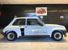 RENAULT 5 Turbo 2 Restauré chez Atelier 76