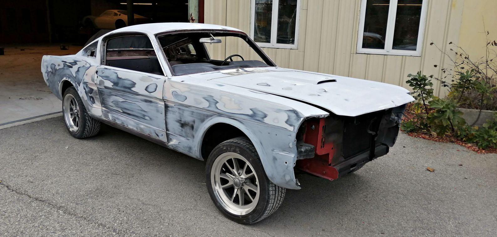 1er dressage - FORD Mustang Fastback